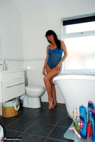 Raunchy Raven. Raven the bathroom beauty Free Pic 2