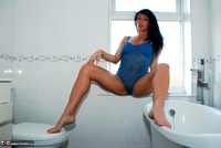 Raunchy Raven. Raven the bathroom beauty Free Pic 10