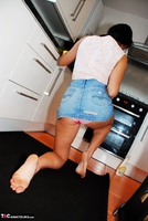 Raunchy Raven. Getting raunchy in the kitchen Free Pic 7
