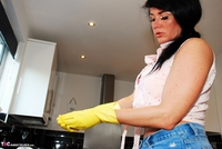 Raunchy Raven. Getting raunchy in the kitchen Free Pic 17