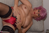 . Red Boots & Topless Free Pic 15