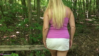 Sweet Susi. Hot Piss In The Forest Free Pic 3