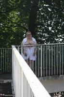 Lexie Cummings. Flashing On The Bridge Free Pic 11
