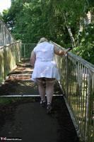 Lexie Cummings. Flashing On The Bridge Free Pic 17