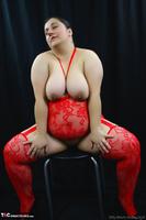 Kimberly Scott. Red Bodystocking Pt2 Free Pic 1