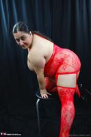 Kimberly Scott. Red Bodystocking Pt2 Free Pic 7