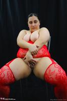 Kimberly Scott. Red Bodystocking Pt2 Free Pic 17