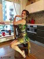 Diana Ananta. Home Striptease Free Pic 1