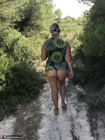 Sweet Susi. Swimsuit In The Forest Free Pic 6