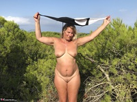 Sweet Susi. Swimsuit In The Forest Free Pic 19