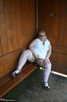 Lexie Cummings. Lexie & Her Tail In The Bus Shelter Free Pic 6