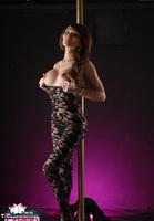 Eva Lin TS. Chained up tranny slut Free Pic 3