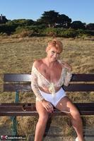 . Flashing My Tits Outside Free Pic 4