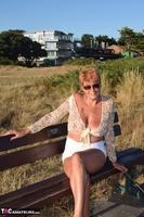 . Flashing My Tits Outside Free Pic 5
