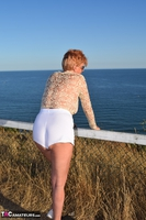 . Flashing My Tits Outside Free Pic 9