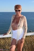 . Flashing My Tits Outside Free Pic 14