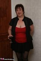 Kinky Carol. Black Stockings & Red Shoes Pt1 Free Pic 1