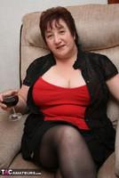Kinky Carol. Black Stockings & Red Shoes Pt1 Free Pic 4
