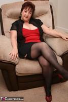 Kinky Carol. Black Stockings & Red Shoes Pt1 Free Pic 5