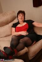 Kinky Carol. Black Stockings & Red Shoes Pt1 Free Pic 7
