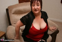 Kinky Carol. Black Stockings & Red Shoes Pt1 Free Pic 9