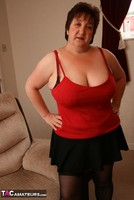 Kinky Carol. Black Stockings & Red Shoes Pt1 Free Pic 13