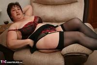Kinky Carol. Black Stockings & Red Shoes Pt1 Free Pic 20