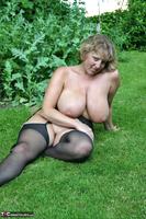 Curvy Claire. Little Black Dress Garden Strip Pt2 Free Pic 16