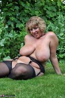 Curvy Claire. Little Black Dress Garden Strip Pt2 Free Pic 17