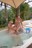 Melody. Hot Tub Lesbo Fun With Pandora Pt2 Free Pic 14