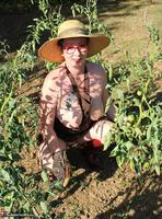 Mary Bitch. In My Garden In Rubber Boots Free Pic 10
