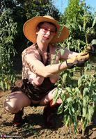 Mary Bitch. In My Garden In Rubber Boots Free Pic 11