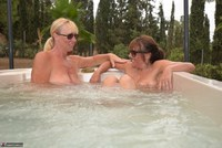 Melody. Hot Tub Lesbo Fun With Pandora Pt3 Free Pic 19