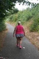 Lexie Cummings. Pink Shirt Flash Pt1 Free Pic 3