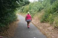 Lexie Cummings. Pink Shirt Flash Pt1 Free Pic 4