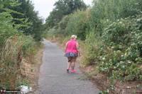 Lexie Cummings. Pink Shirt Flash Pt1 Free Pic 5
