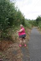 Lexie Cummings. Pink Shirt Flash Pt1 Free Pic 7