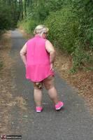 Lexie Cummings. Pink Shirt Flash Pt1 Free Pic 16