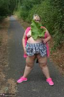 Lexie Cummings. Pink Shirt Flash Pt1 Free Pic 19