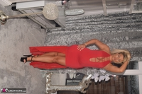 Phillipas Ladies. Dolly In Her Sexy Red Dress Free Pic 4