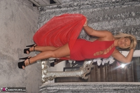 Phillipas Ladies. Dolly In Her Sexy Red Dress Free Pic 5