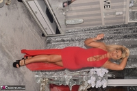 Phillipas Ladies. Dolly In Her Sexy Red Dress Free Pic 10
