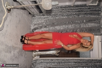 Phillipas Ladies. Dolly In Her Sexy Red Dress Free Pic 11