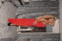 Phillipas Ladies. Dolly In Her Sexy Red Dress Free Pic 12