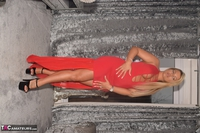 Phillipas Ladies. Dolly In Her Sexy Red Dress Free Pic 14