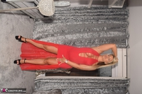 Phillipas Ladies. Dolly In Her Sexy Red Dress Free Pic 15