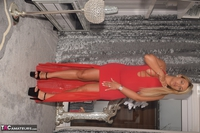 Phillipas Ladies. Dolly In Her Sexy Red Dress Free Pic 16