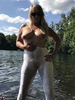 Sweet Susi. White Leggings Free Pic 12