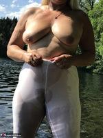 Sweet Susi. White Leggings Free Pic 16