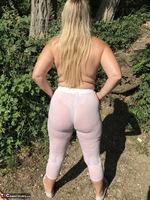 Sweet Susi. White Leggings Free Pic 19